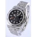 ロレックス Ref.216570 エクスプローラーII GMT ブラック メンズ