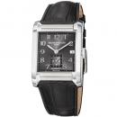 ボーム&メルシエ 腕時計 ハンプトン MOA10027 ブラック×ブラックレザー
