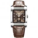 ボーム&メルシエ 腕時計 ハンプトン MOA10028 ブラウン×ブラウンレザー
