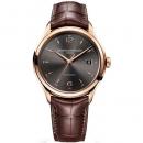 ボーム&メルシエ  腕時計 クリフトン MOA10059 グレー×ブラウン