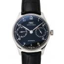 IWC ポルトギーゼ 7デイズパワーリザーブ IW500703 ブラック 31202