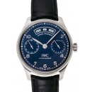 IWC ポルトギーゼ アニュアルカレンダー IW503502 ブルー 31603
